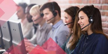 Centre d'appel et agents